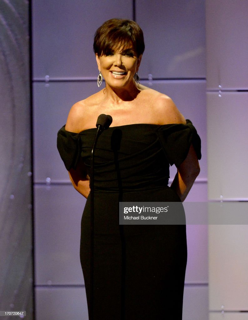 TV personality <a gi-track='captionPersonalityLinkClicked' href=/galleries/search?phrase=Kris+Jenner&family=editorial&specificpeople=762610 ng-click='$event.stopPropagation()'>Kris Jenner</a> speaks onstage during the 40th Annual Daytime Emmy Awards at the Beverly Hilton Hotel on June 16, 2013 in Beverly Hills, California. 23774_001_2594.JPG
