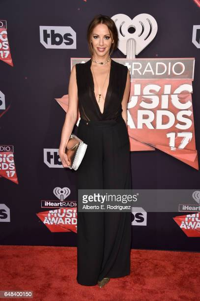 TV personality Kristen Doute attends the 2017 iHeartRadio Music Awards which broadcast live on Turner's TBS TNT and truTV at The Forum on March 5...