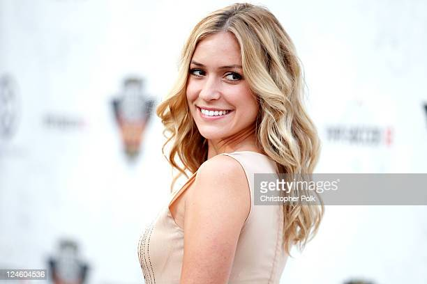 TV personality Kristin Cavallari arrives at Comedy Central's Roast of Charlie Sheen held at Sony Studios on September 10 2011 in Los Angeles...