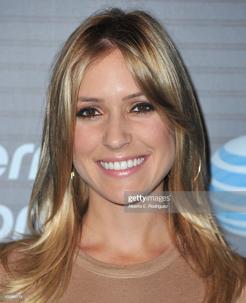 TV personality Kristin Cavallari arrives at the Blackberry Torch launch party on August 11 2010 in Los Angeles California