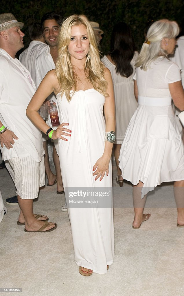 TV personality Kristin Cavallari attends Fred Segal's birthday charity event and auction at a Private Residence on August 29, 2009 in Malibu, California.