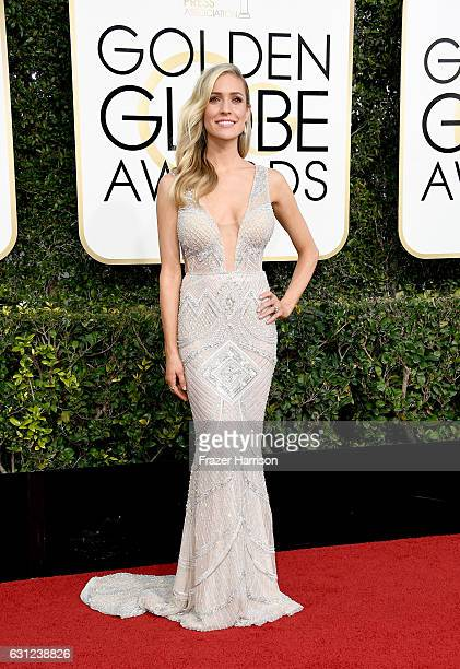 TV personality Kristin Cavallari attends the 74th Annual Golden Globe Awards at The Beverly Hilton Hotel on January 8 2017 in Beverly Hills California