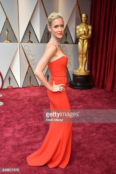 TV personality Kristin Cavallari attends the 89th Annual Academy Awards at Hollywood Highland Center on February 26 2017 in Hollywood California
