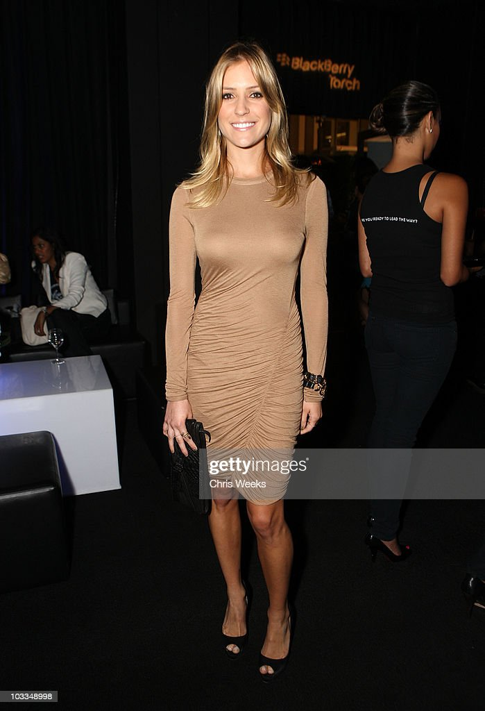 Personality Kristin Cavallari attends the BlackBerry Torch from ATT US Launch Party on August 11 2010 in Los Angeles California