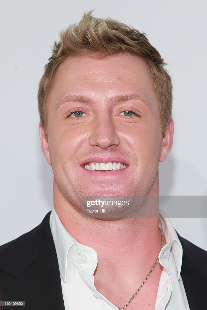 TV personality Kroy Biermann of 'Don't Be Tardy...' attends the 2013 Bravo Upfront at Pillars 37 Studios on April 3, 2013 in New York City.