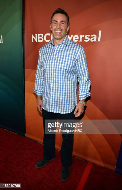 TV personality Kurt Warner attends the NBC Universal Summer 2013 Press Day at Langham Hotel on April 22 2013 in Pasadena California