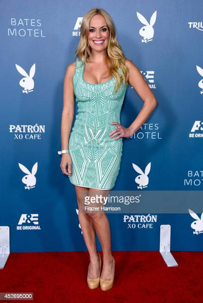 TV personality Kyle Keller attends Playboy and AE 'Bates Motel' Event during ComicCon International 2014 on July 25 2014 in San Diego California