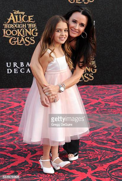 TV personality Kyle Richards and daughter Portia Umansky arrive at the premiere of Disney's 'Alice Through The Looking Glass' at the El Capitan...
