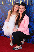 TV personality Kyle Richards and daughter Portia Umansky attend a 'Cinderella' advance screening benefitting Los Angeles JDRF at Walt Disney Studios...