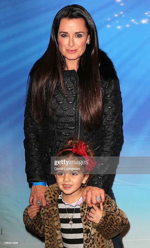 TV personality Kyle Richards and daughter Portia Umansky attend the opening night of Disney On Ice's 'Dare To Dream' at LA Kings Holiday Ice at L.A. LIVE on December 12, 2012 in Los Angeles, California.