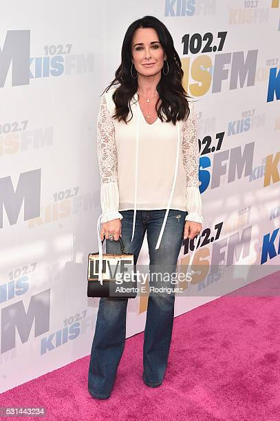 TV personality Kyle Richards attends KIIS FM's Wango Tango 2016 at StubHub Center on May 14 2016 in Carson California
