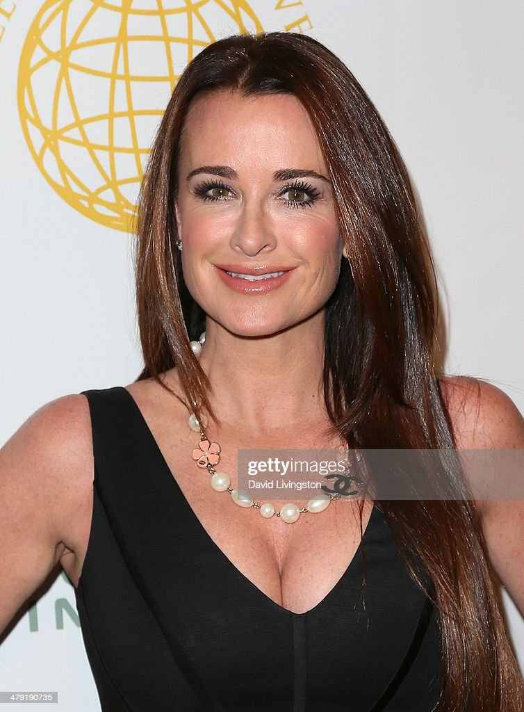 TV personality Kyle Richards attends the Queen of the Universe International Beauty Pageant at the Saban Theatre on March 16, 2014 in Beverly Hills, California.
