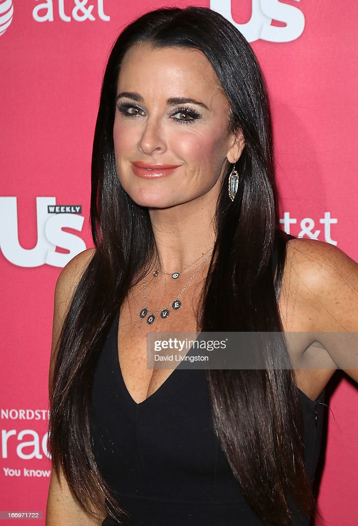 TV personality Kyle Richards attends Us Weekly's Annual Hot Hollywood Style Issue event at the Emerson Theatre on April 18, 2013 in Hollywood, California.