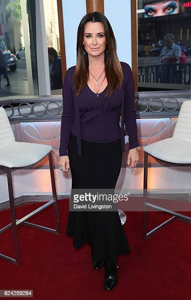 TV personality Kyle Richards visits Hollywood Today Live at W Hollywood on November 18 2016 in Hollywood California