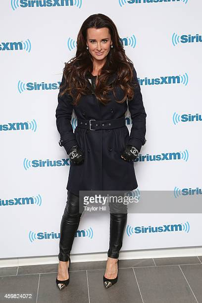 TV personality Kyle Richards visits the SiriusXM Studios on December 2 2014 in New York City