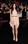 TV personality Kylie Jenner arrives at Summit Entertainment's 'The Twilight Saga Breaking Dawn Part 1' premiere at Nokia Theatre LA Live on November...