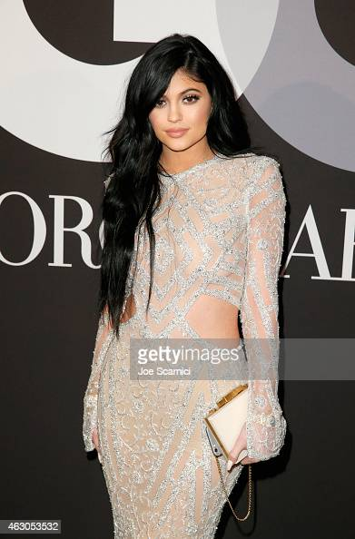 TV personality Kylie Jenner attends GQ and Giorgio Armani Grammys After Party at Hollywood Athletic Club on February 8 2015 in Hollywood California