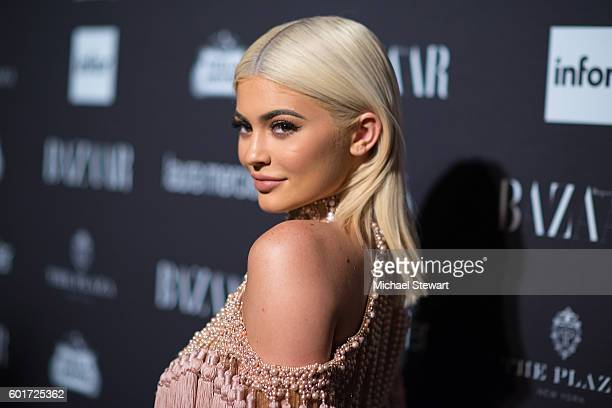 TV personality Kylie Jenner attends Harper's BAZAAR Celebrates 'ICONS By Carine Roitfeld' at The Plaza Hotel on September 9 2016 in New York City