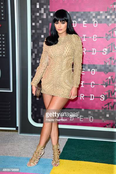 TV personality Kylie Jenner attends the 2015 MTV Video Music Awards at Microsoft Theater on August 30 2015 in Los Angeles California