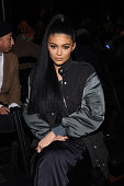 Personality Kylie Jenner attends the Alexander Wang Fall 2016 fashion show during New York Fashion Week at St Bartholomew's Church on February 13...