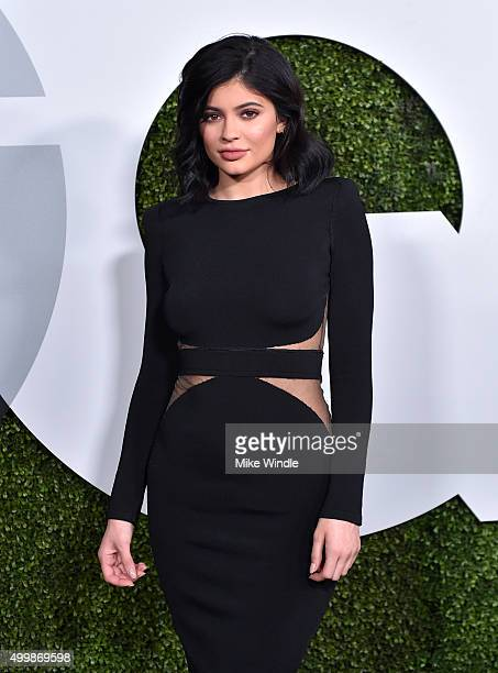 TV personality Kylie Jenner attends the GQ 20th Anniversary Men Of The Year Party at Chateau Marmont on December 3 2015 in Los Angeles California
