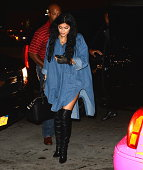 TV personality Kylie Jenner is seen in soho on September 5 2014 in New York City Photo by Raymond Hall/GC Images