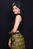 TV personality Kylie Jenner poses for a portrait during the FOX 2014 Teen Choice Awards at The Shrine Auditorium on August 10 2014 in Los Angeles...
