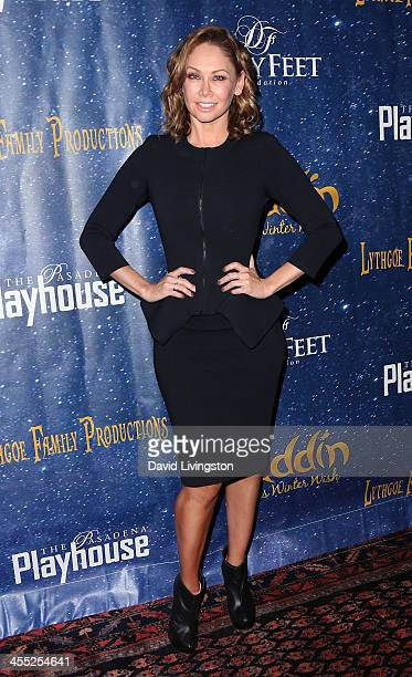 TV personality Kym Johnson attends 'Aladdin and His Winter Wish' opening night at the Pasadena Playhouse on December 11 2013 in Pasadena California