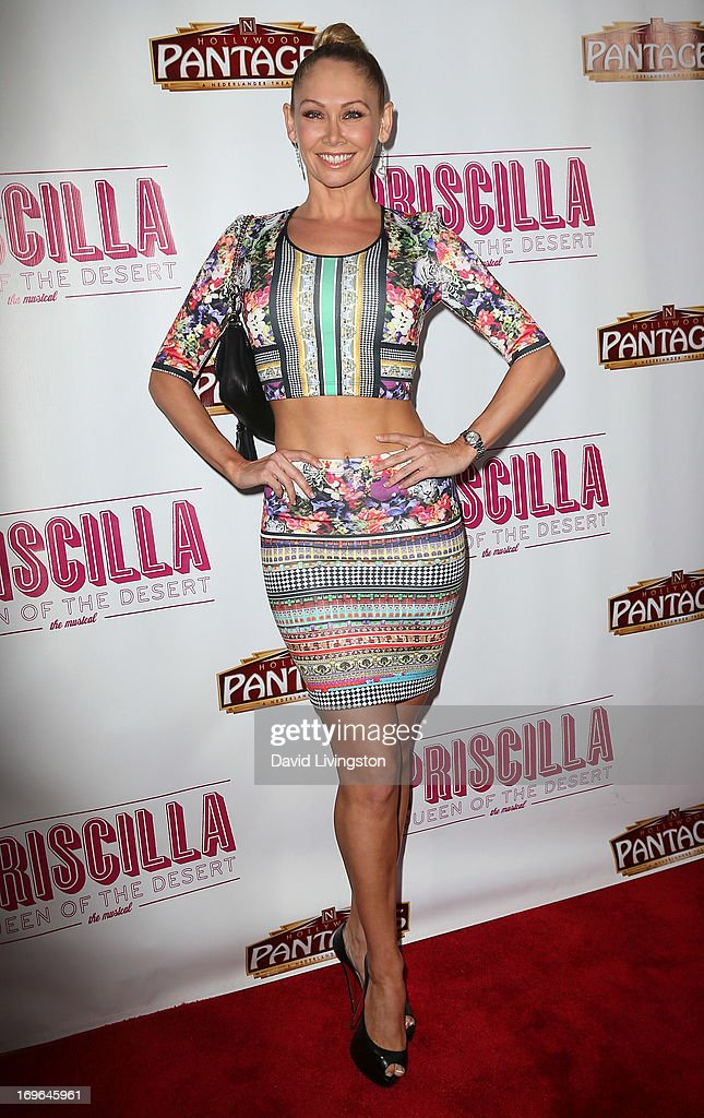 TV personality Kym Johnson attends the Los Angeles theatre premiere of 'Priscilla Queen of the Desert' at the Pantages Theatre on May 29, 2013 in Hollywood, California.