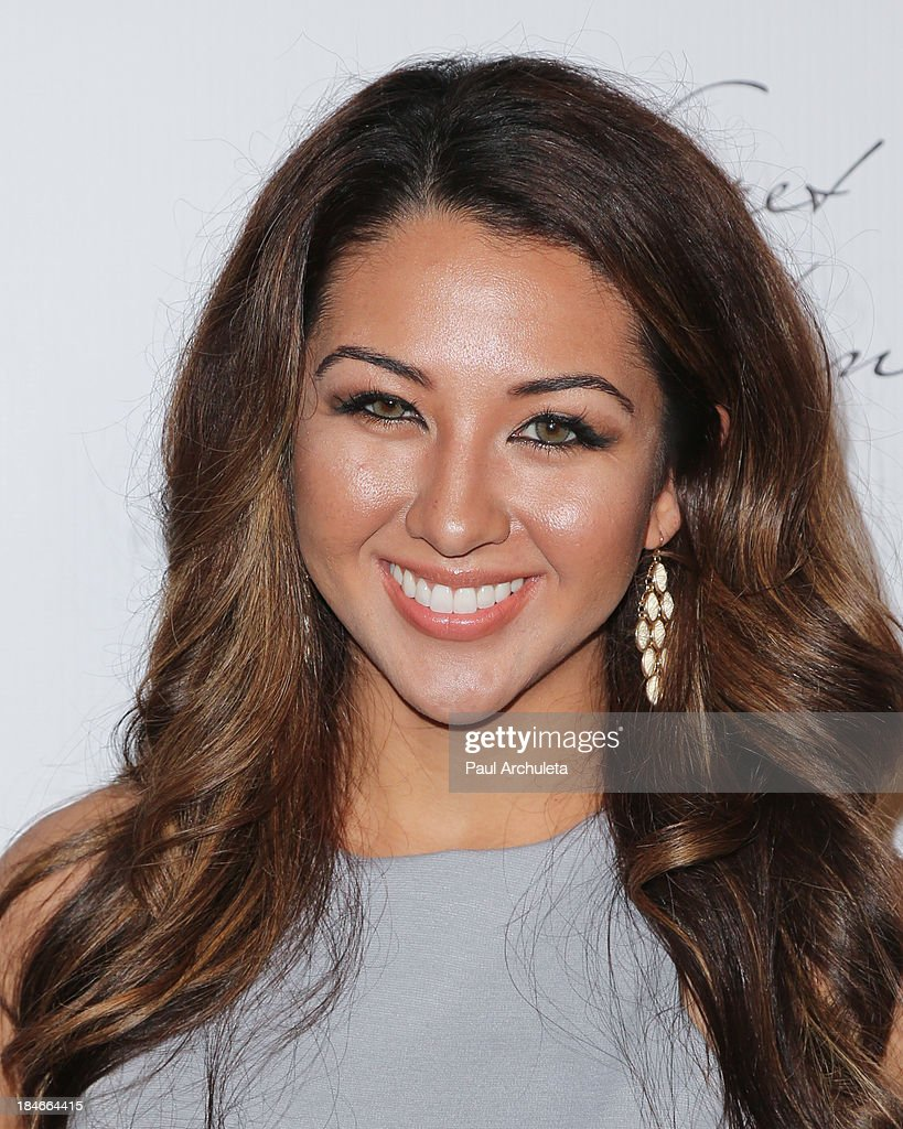 TV Personality Kyra Batte attends the Pretty Pink Beauty Night at Tiato Restaurant on October 14, 2013 in Santa Monica, California.