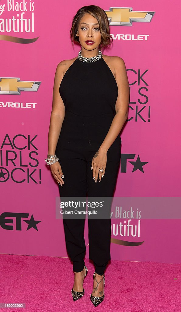 TV personality <a gi-track='captionPersonalityLinkClicked' href=/galleries/search?phrase=La+La+Anthony&family=editorial&specificpeople=209433 ng-click='$event.stopPropagation()'>La La Anthony</a> attends Black Girls Rock! 2013 at New Jersey Performing Arts Center on October 26, 2013 in Newark, New Jersey.