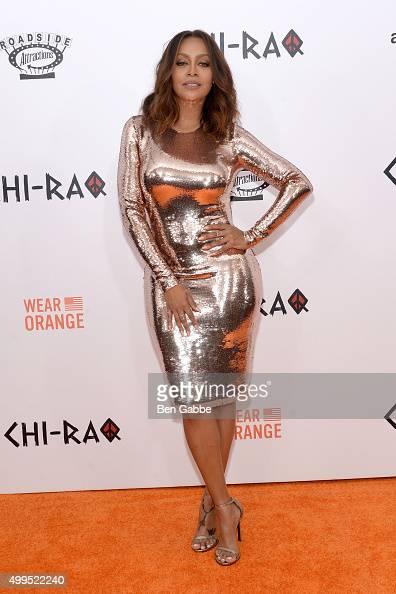 TV personality La La Anthony attends the 'CHIRAQ' New York Premiere at Ziegfeld Theater on December 1 2015 in New York City