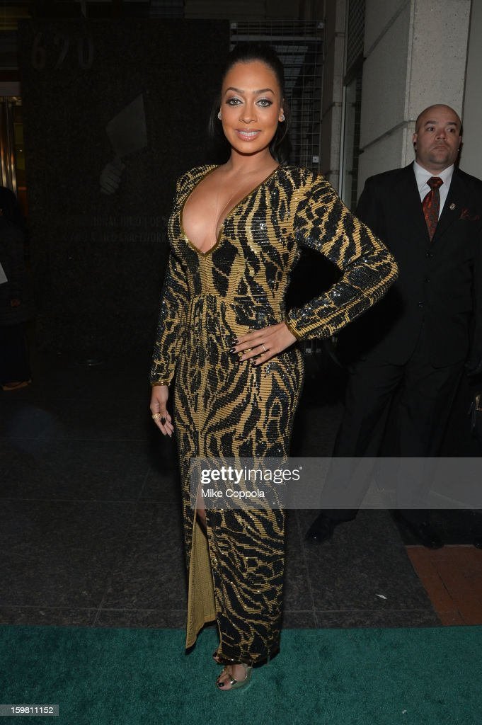 TV Personality La La Anthony attends The Hip Hop Inaugural Ball II sponsored by Heineken USA at Harman Center for the Arts on January 20, 2013 in Washington, DC.