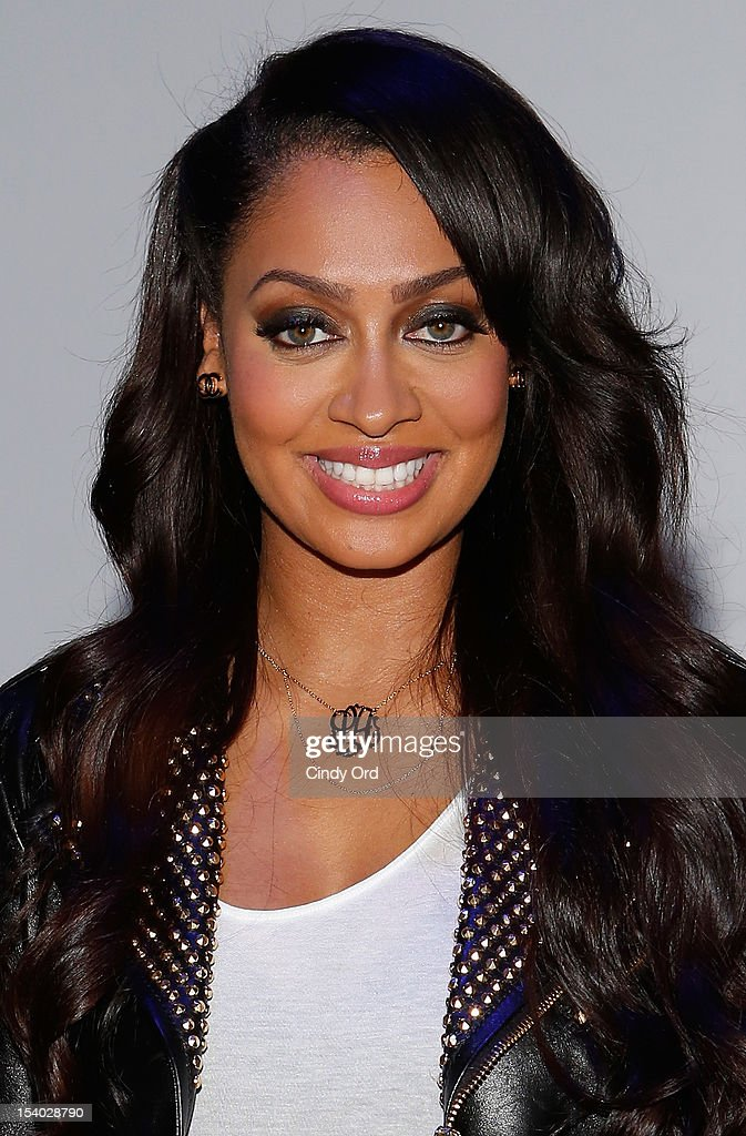 TV personality La La Anthony attends the Rookie USA Flagship Store Opening at Rookie USA on October 12, 2012 in New York City.
