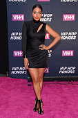 Personality La La Anthony attends the VH1 Hip Hop Honors All Hail The Queens at David Geffen Hall on July 11 2016 in New York City