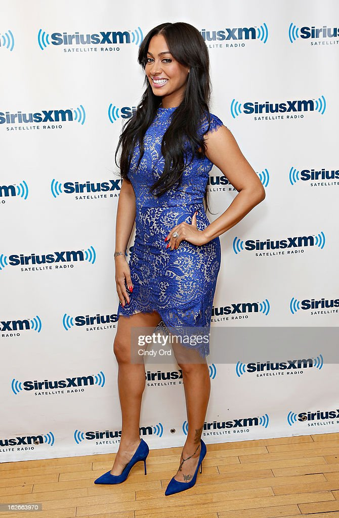 TV personality <a gi-track='captionPersonalityLinkClicked' href=/galleries/search?phrase=La+La+Anthony&family=editorial&specificpeople=209433 ng-click='$event.stopPropagation()'>La La Anthony</a> visits the SiriusXM Studios on February 25, 2013 in New York City.