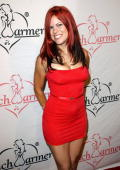 Personality Lacey of VH1's 'Rock of Love' attend the Bench Warmers Trading Cards Birthday Bash for Founder Brian Wallos at Area in West Hollywood...