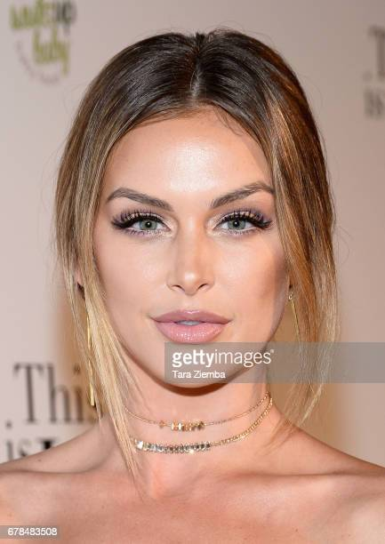 TV personality Lala Kent attends the premiere party for Circle 8 Production's 'This Is LA' at Yamashiro Hollywood on May 3 2017 in Los Angeles...