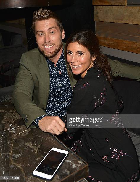 TV personality Lance Bass and actress JamieLynn Sigler attend Logo's 'Finding Prince Charming' Premiere Screening And Reception at HYDE Sunset...