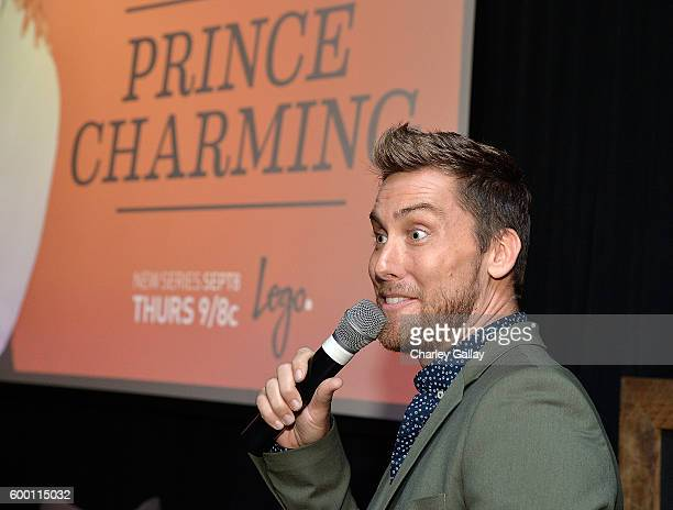 TV personality Lance Bass attends Logo's 'Finding Prince Charming' Premiere Screening And Reception at HYDE Sunset Kitchen Cocktails on September 7...
