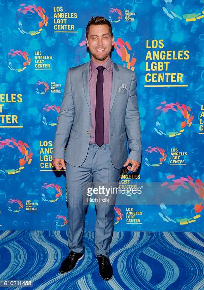 TV personality Lance Bass attends the Los Angeles LGBT Center 47th Anniversary Gala Vanguard Awards at Pacific Design Center on September 24 2016 in...
