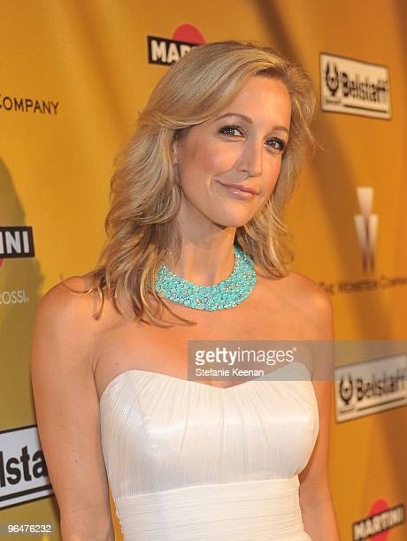 TV personality Lara Spencer arrives at The Weinstein Company Golden Globes After Party held at BAR 210 at The Beverly Hilton Hotel on January 17 2010...
