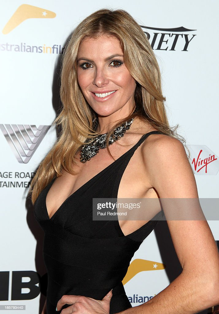 TV Personality <a gi-track='captionPersonalityLinkClicked' href=/galleries/search?phrase=Laura+Csortan&family=editorial&specificpeople=206766 ng-click='$event.stopPropagation()'>Laura Csortan</a> arrives at the Australians In Film Benefit Dinner at the InterContinental Hotel on October 24, 2013 in Century City, California.