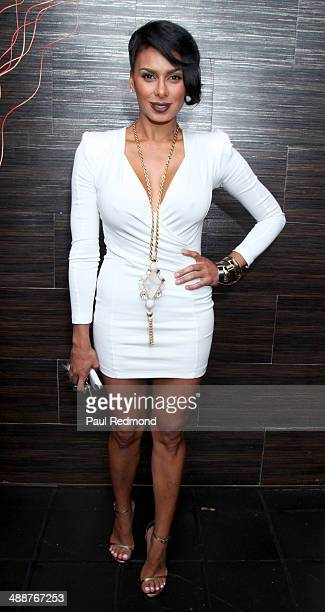 TV personality Laura Govan attending VH1's 'Hollywood Exes' Premiere Screening Party at Philippe Chow on May 7 2014 in Beverly Hills California