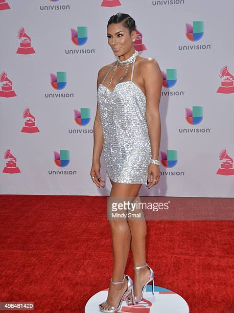TV personality Laura Govan attends the 16th Latin GRAMMY Awards at the MGM Grand Garden Arena on November 19 2015 in Las Vegas Nevada