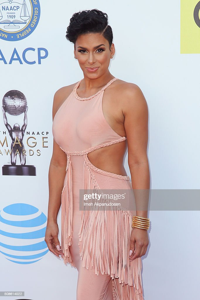 TV personality Laura Govan attends the 47th NAACP Image Awards presented by TV One at Pasadena Civic Auditorium on February 5, 2016 in Pasadena, California.
