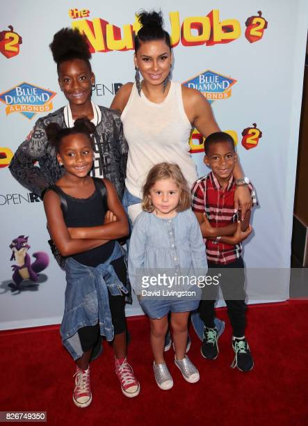 TV personality Laura Govan attends the premiere of Open Road Films' 'The Nut Job 2 Nutty by Nature' at Regal Cinemas LA Live on August 5 2017 in Los...