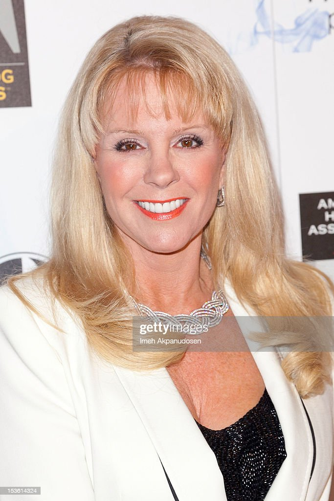 TV personality Laura McKenzie attends The American Humane Association's Hero Dog Awards on October 6, 2012 in Beverly Hills, California.