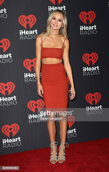 TV personality Lauren Bushnell attends the 2016 iHeartRadio Music Festival Night 1 at TMobile Arena on September 23 2016 in Las Vegas Nevada