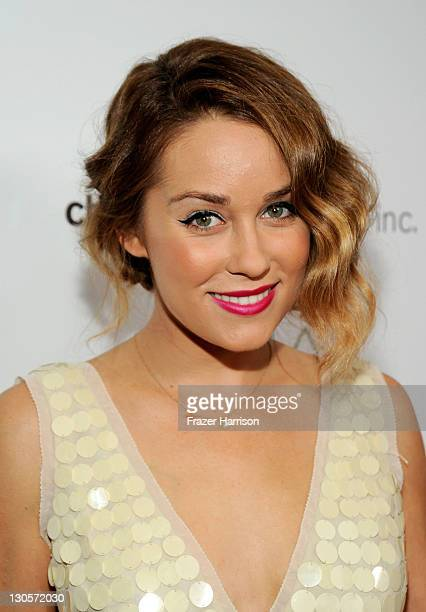 TV personality Lauren Conrad arrives at The 2nd Annual Autumn Party Featuring A Fashion Show By Yigal Azrouel Benefiting Children's Institute held at...